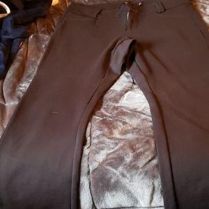 Torrid black ponte bootcut pants
